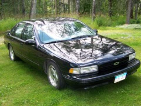 1995 Chevrolet Impala SS in Black