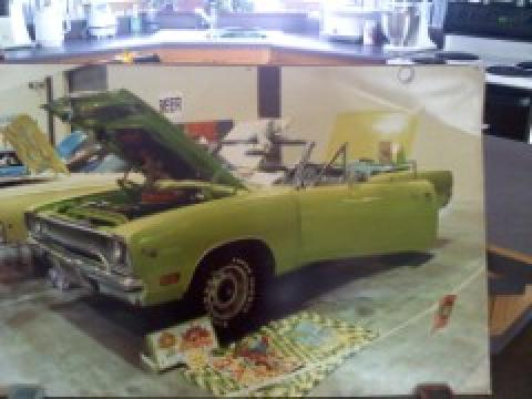 1970 Plymouth Road Runner Convertible in Limelight Green
