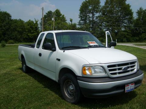 1999 Ford F150 Extended Cab in Oxford White