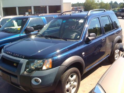 2004 Land Rover Freelander  in Oslo Blue Metallic
