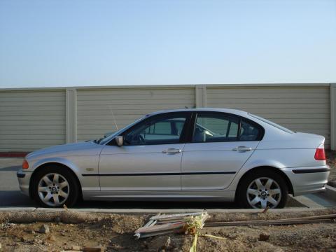 2001 BMW 3 Series 325i Sedan in Titanium Silver Metallic