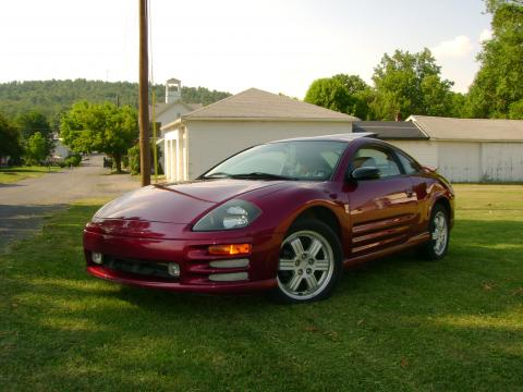 2000 Mitsubishi Eclipse GT Coupe in Primal Red Pearl
