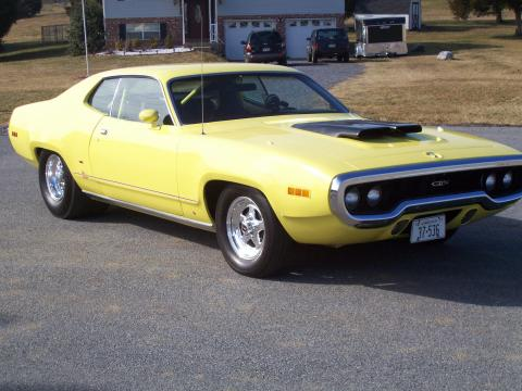1971 Plymouth Satellite GTX Clone in Yellow