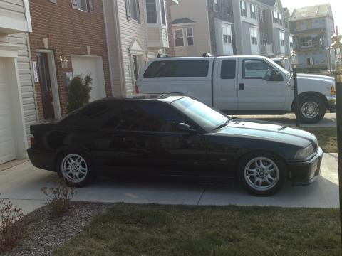 1996 BMW 3 Series 328is Coupe in Jet Black