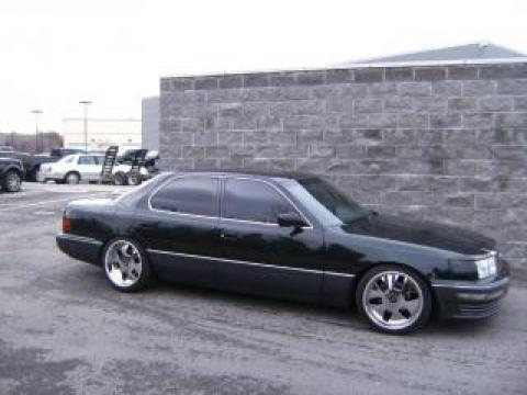 1992 Lexus LS 400 in Black Jade Metallic