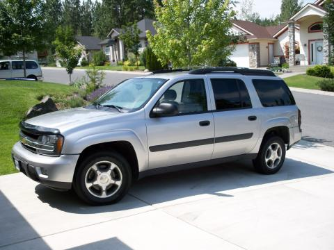 2005 Chevrolet TrailBlazer LS in Silverstone Metallic