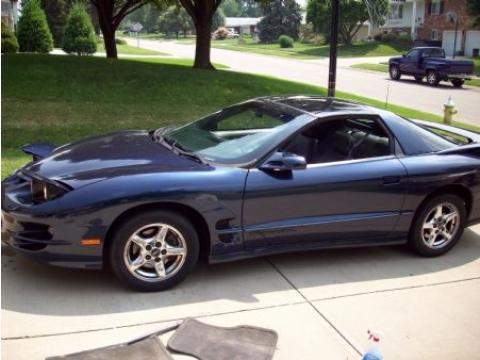 1999 Pontiac Firebird Trans Am Coupe in Navy Blue Metallic