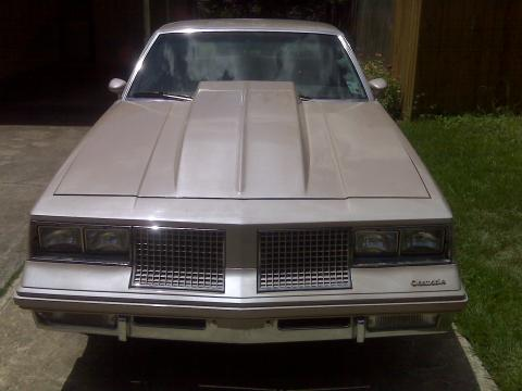 1983 Oldsmobile Cutlass Supreme in Tan
