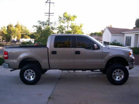 2005 Ford F150 XLT SuperCab 4x4 in Arizona Beige Metallic