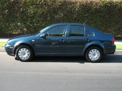 2002 Volkswagen Jetta GL Sedan in Baltic Green