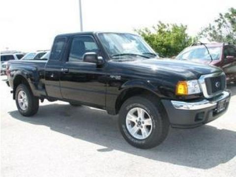 2004 Ford Ranger Tremor SuperCab in Black