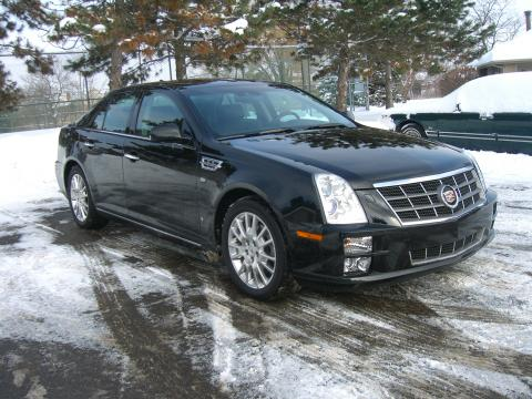 2009 Cadillac STS 4 V8 Performance AWD in Black Raven