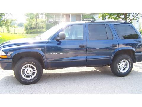 1999 Dodge Durango SLT 4x4 in Patriot Blue Pearlcoat