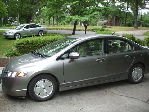 2007 Honda Civic Hybrid Sedan in Magnetic Pearl