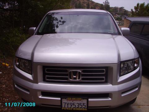 2007 Honda Ridgeline RTS in Billet Silver Metallic