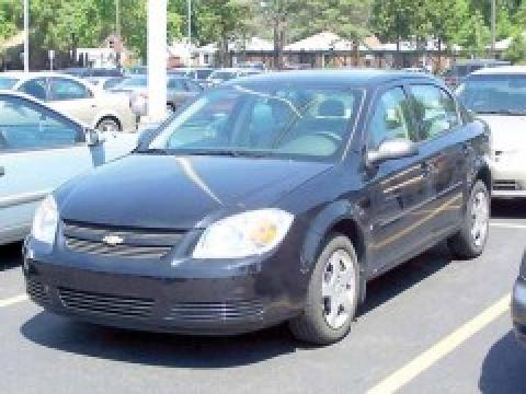 2008 Chevrolet Cobalt LS Sedan in Black