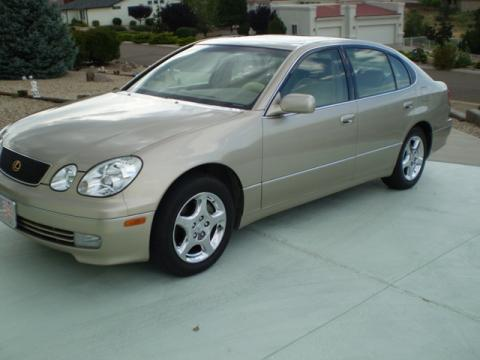 1998 Lexus GS 300 in Burnished Gold Metallic