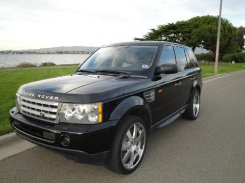 2007 Land Rover Range Rover Sport Supercharged in Java Black Pearl