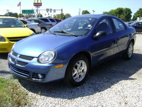 2003 Dodge Neon SE in Atlantic Blue Pearl