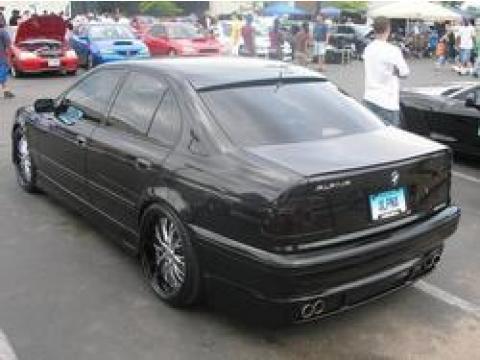 2001 BMW 5 Series 540i Sedan in Cosmos Black Metallic