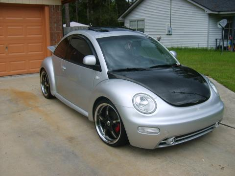 2000 Volkswagen New Beetle GLX 1.8T Coupe in Silver Metallic