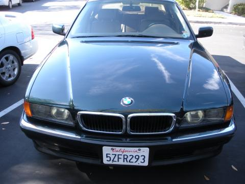 1995 BMW 7 Series 740i Sedan in Green