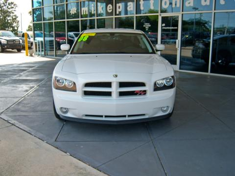2008 Dodge Charger R/T in Stone White