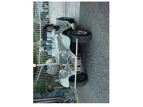 1937 Jaguar SS100  Replica in Gray