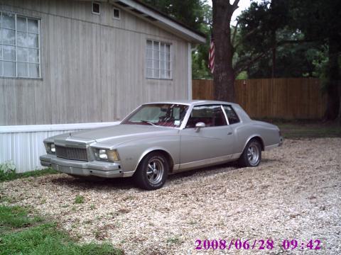 1979 Chevrolet Monte Carlo  in Grey