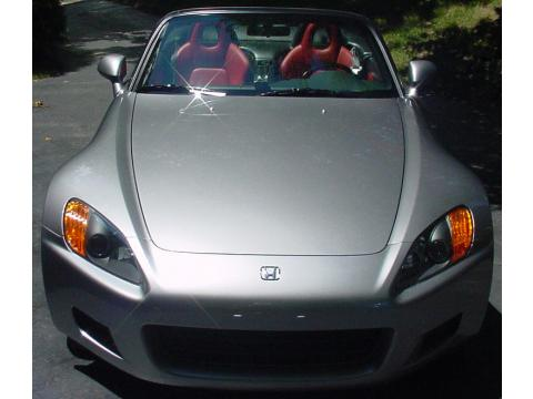 2000 Honda S2000 Roadster in Silver Stone Metallic
