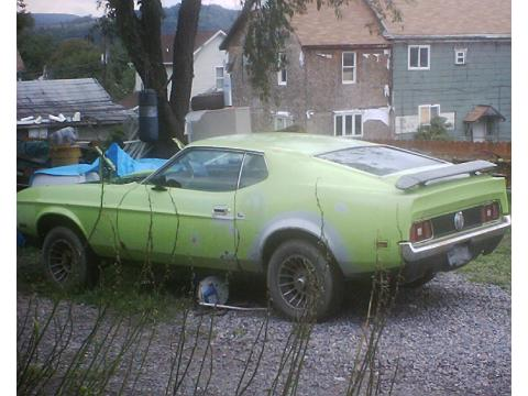 1971 Ford Mustang Mach 1 in Lime Green