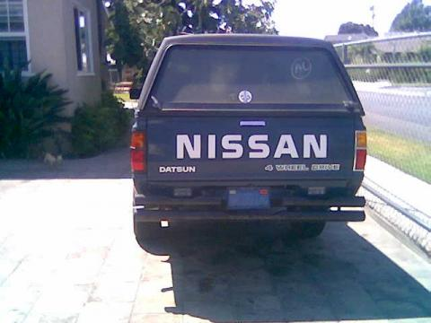 1984 Nissan 720 Pick Up 4x4 King Cab in Blue