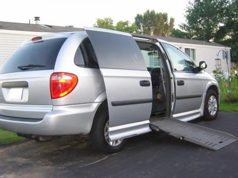 2005 Dodge Grand Caravan SE with Handicap Access in Bright Silver Metallic