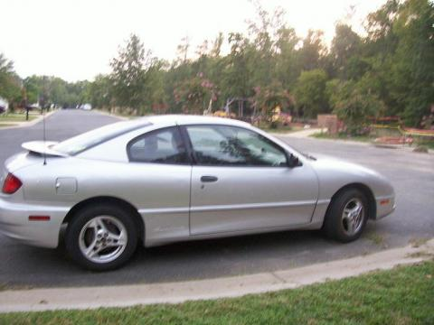 2004 Pontiac Sunfire Coupe in Ultra Silver Metallic