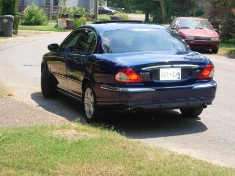 2002 Jaguar X-Type 3.0 in Pacific Blue Metallic
