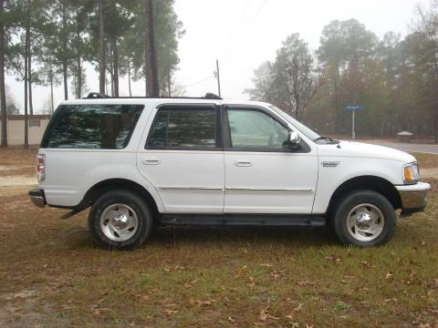 1997 Ford Expedition XLT 4x4 in Oxford White