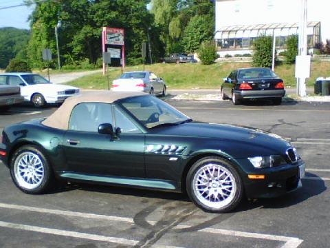 2001 BMW Z3 3.0i Roadster in Oxford Green Metallic