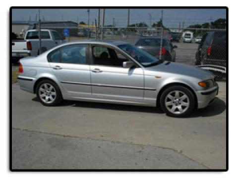 2002 BMW 3 Series 325i Sedan in Titanium Silver Metallic