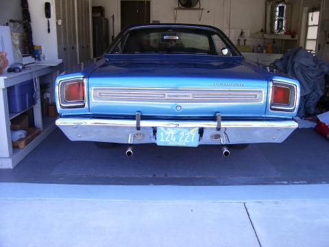 1969 Plymouth Satellite Sport in B5 Blue