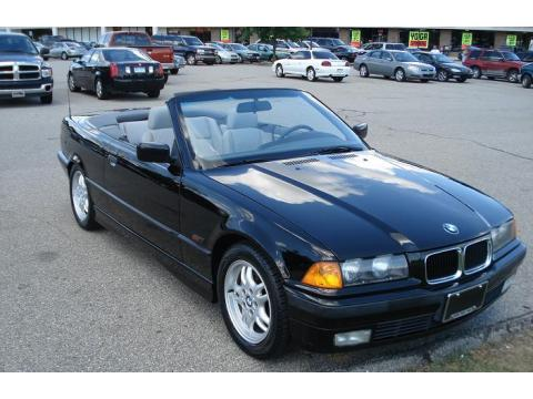 1996 BMW 3 Series 328i Convertible in Jet Black