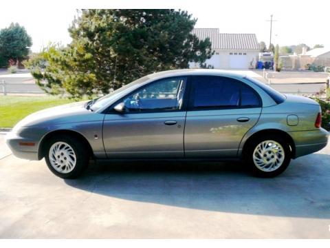 1998 Saturn S Series SL2 Sedan in Pewter (Dark Silver)