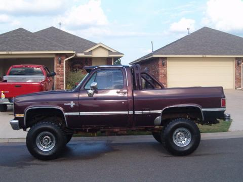 1986 Chevrolet Silverado 4x4 in Brown