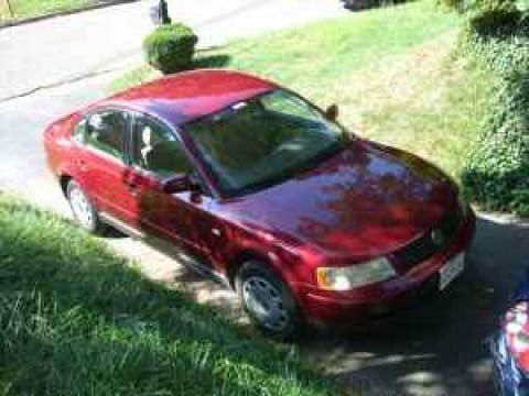 1999 Volkswagen Passat GLS Sedan in Colorado Red Metallic