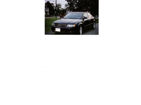 2004 Audi A4 1.8T quattro Sedan in Moro Blue Pearl Effect