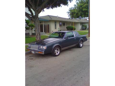 1987 Buick Regal LX in Navy