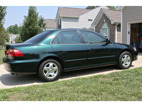 1998 Honda Accord EX V6 Sedan in Dark Emerald Pearl