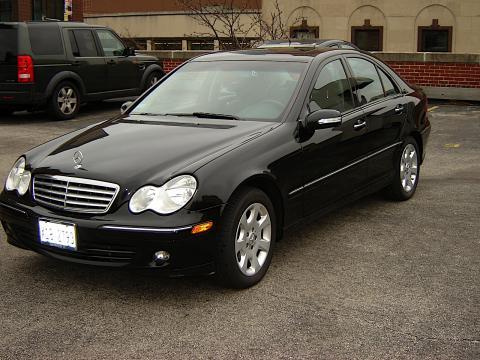 2006 Mercedes-Benz C 280 4Matic Luxury in Black
