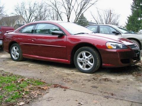 2004 Dodge Stratus SXT Coupe in Inferno Red Pearlcoat
