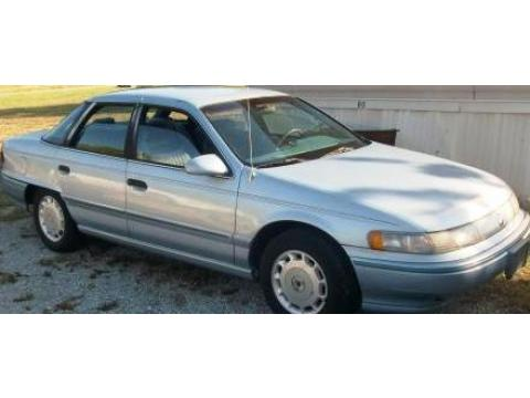 1992 Mercury Sable GS in Light Blue