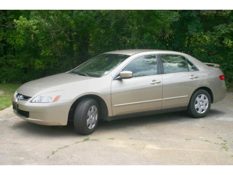 2005 Honda Accord LX Sedan in Desert Mist Metallic